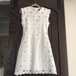NWT delicate white lace dress